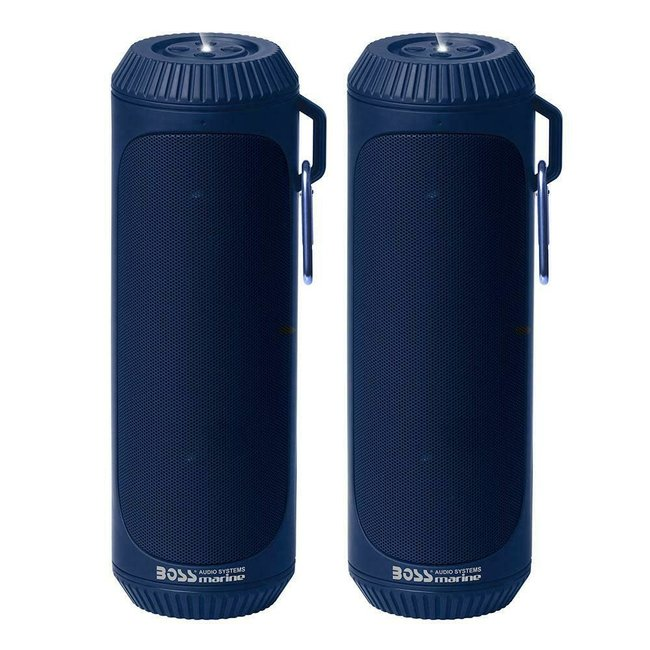Boss Blue Tooth Portable Speaker Blue
