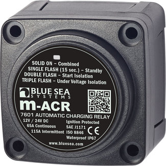 Blue Seas Charging Relay Mini ACR Automatic