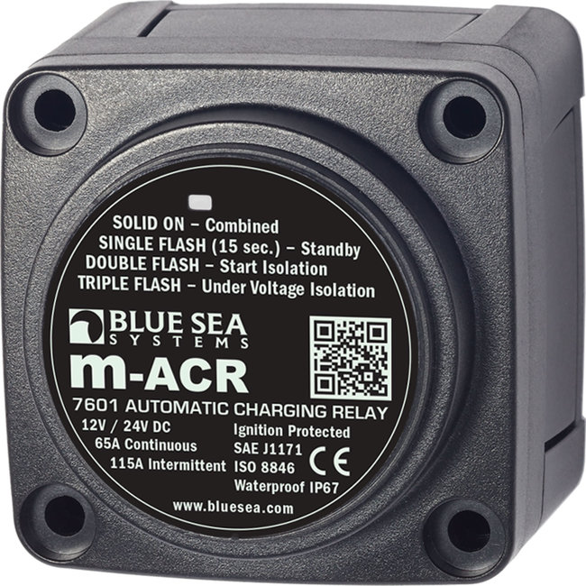 Blue Seas Charging Relay Mini ACR Automatic