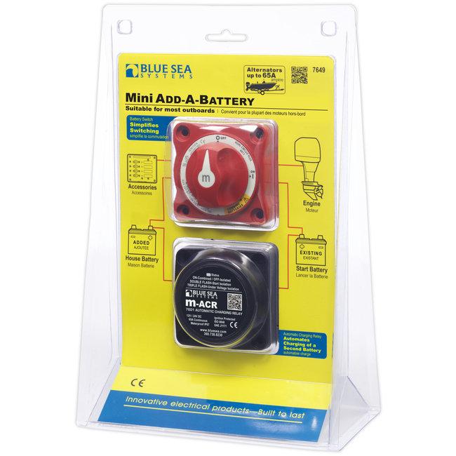 Blue Seas Add A BatteryBattery Switch Mini