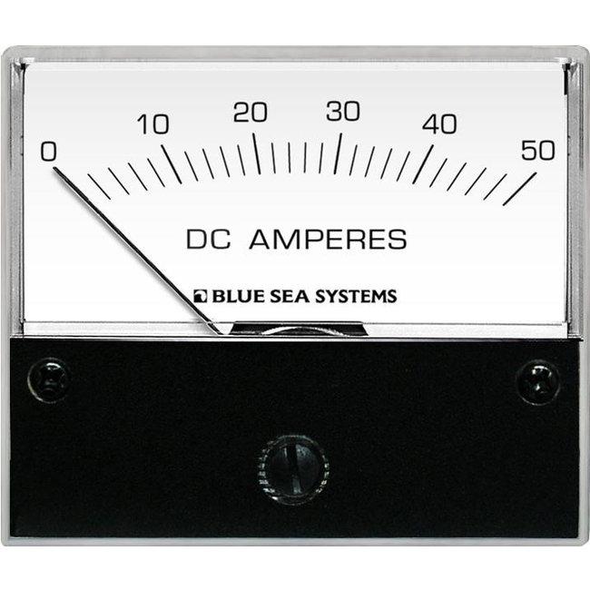 Blue Seas Ammeter DC 0-50Amp + Shunt