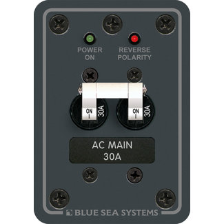 Blue Seas Panel AC Main 30amp 120volt NS