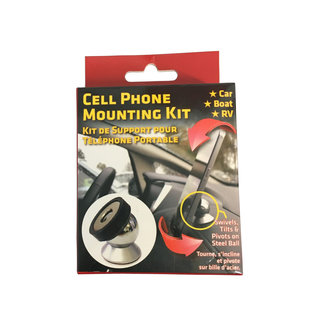 Leisure Products Canada Cell Phone Mounting Kit - Dashboard Mount
