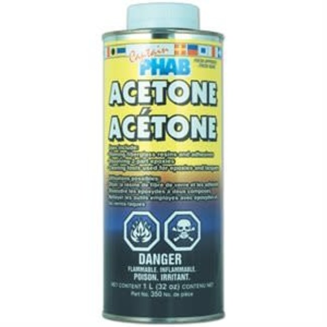 Captain Phab Acetone 964mL
