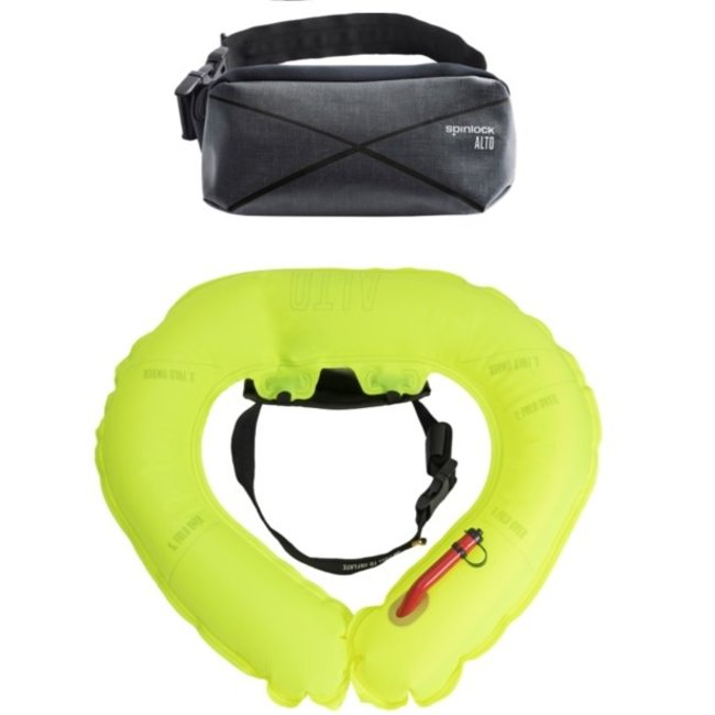 Spinlock Alto Manual Inflate Belt Pack Black