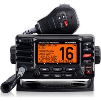Standard Horizon VHF Radio/W GPS Explorer Blk XX