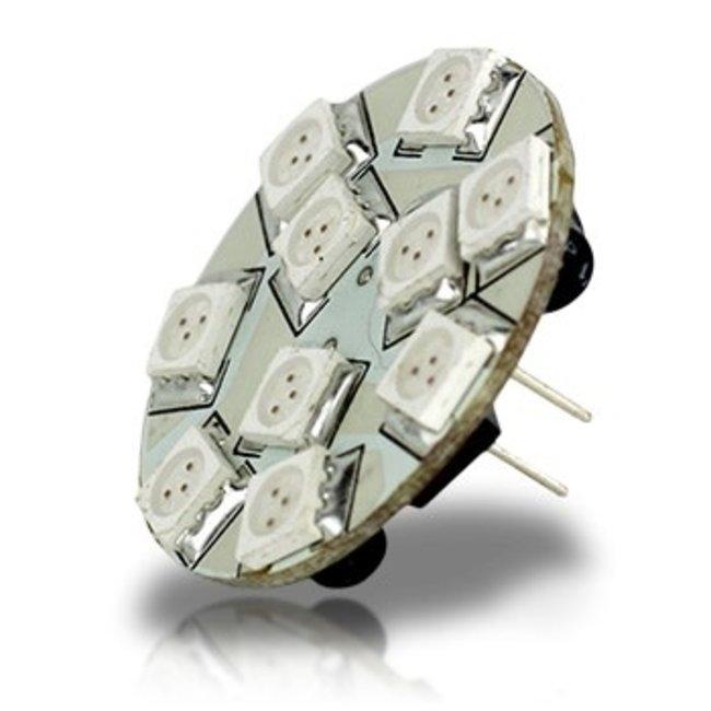 Lunasea Bulb Cluster G4 10-30V Backpin Warm 10LED