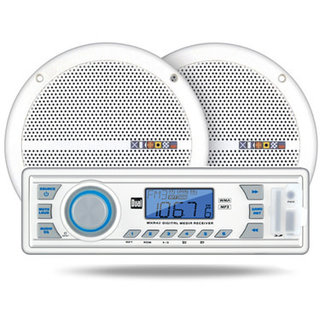 "Dual Digital Media Receiver with 6.5"" Speakers"