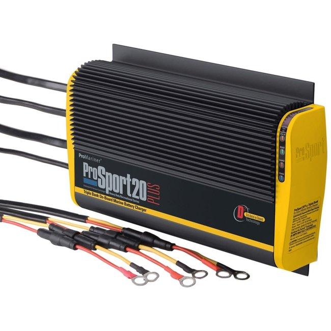 Promariner Battery Charger Prosport 20 Amp Plus 3 Bank 12/24V