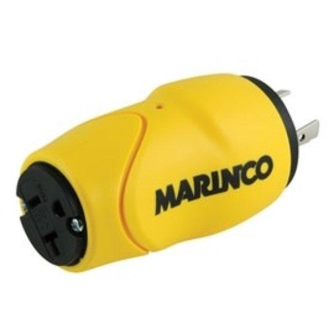 Marinco Adapter Eel 20M 15F