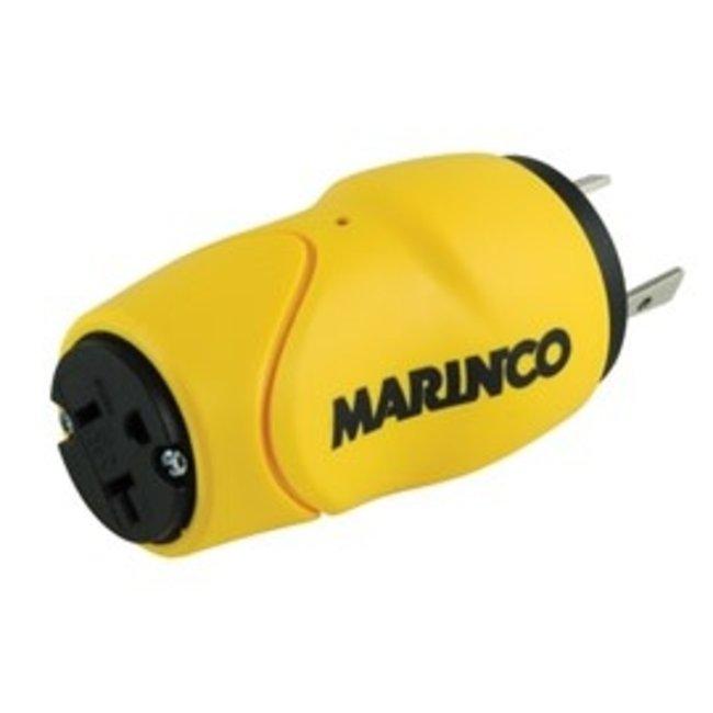 Marinco Adapter EEL 30M 15F