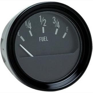 Seachoice Gauge Fuel Black Bezel