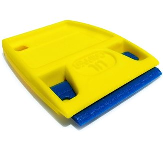 Scraperite Plastic Scraper with Blue Handle