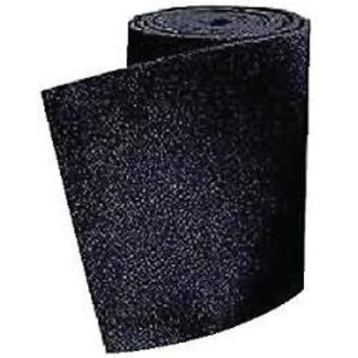 "Brewers Marine Supply Bunk Board Carpet 11"" x 12'  Black"