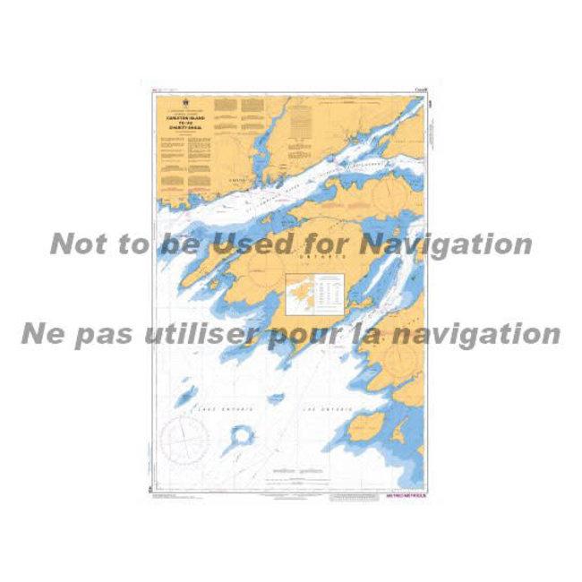 Hydrographic Carleton Is/Charity Shoal Lawr