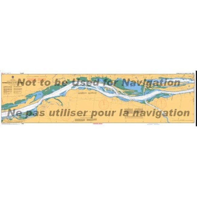 Hydrographic Carillion To Papineauville
