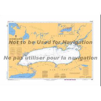 Hydrographic Lake Ontario
