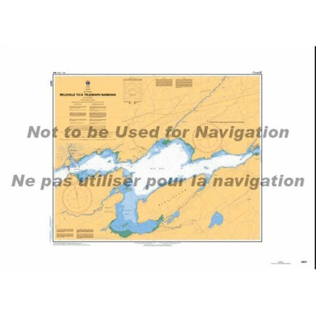 Hydrographic Belleville To Telegraph Narrow