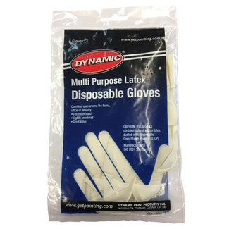 Dynamic Disposable Latex Gloves