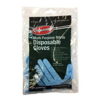 Dynamic Nitrile Disposable Gloves 6 pk
