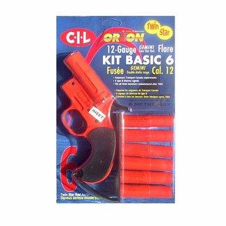 Orion Flare Gun Kit 6 Pack B Style