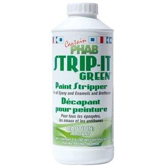 Captain Phab Strip-It Green 1 L Paint Stripper