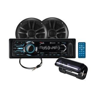Boss Marine MP3-Compatible Digital Media AM/FM Receiver