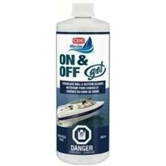 CRC Marine On & Off Gel Fiberglass Hull & Bottom Cleaner