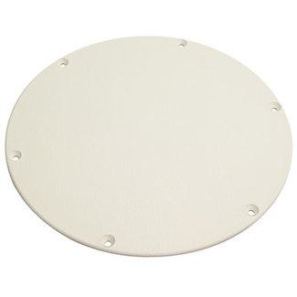 "Seachoice Cover Plate 4 1/8"" Arctic White"