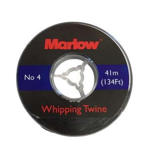 Marlow Whipping Twine #4 Black