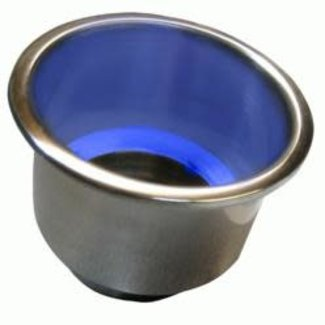 Seachoice Cup Holder LED Blue