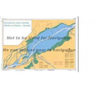 Hydrographic Lac Saint-Louis Que Replaces Old 1410