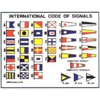 Victory Code Flag Stickers
