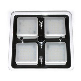 Victory Glass Ceiling  Light 7 x 7 Led