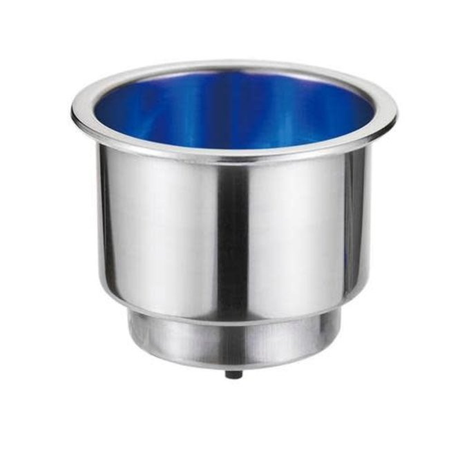 """Victory Can Holder w/Blue LED base 2-5/8"""" Dia. x 3""""H"""