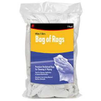Buffalo Rags White 1# Bag