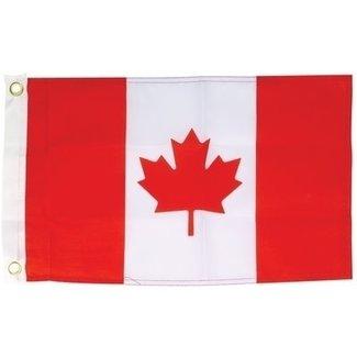 Brewers Marine Supply Flag Canada Screen 12x24