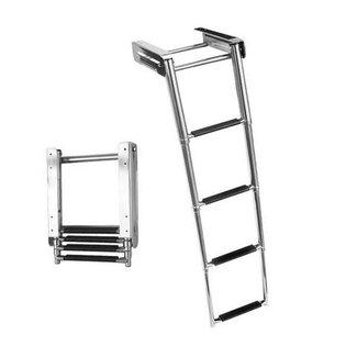 Victory Ladder 4 Step Under Platform SS