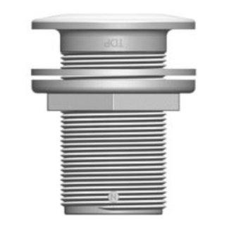 """Tru Design Plastics Ltd. Thruhull GRP 1-1/2"""" NPS White"""