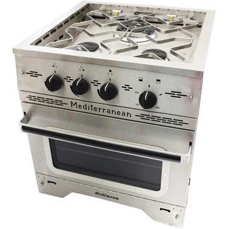 Dickinson Mediterranean Three Burner Gas Stove & Oven