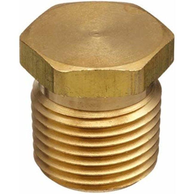 """C.C Marine Brass Plug  1/4"""""""