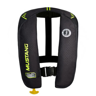 Mustang Inflatable Auto MIT Black/Yellow Model MD2017-02