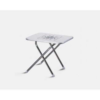 "Trem Rectangular Folding Table 20"" x 30"""