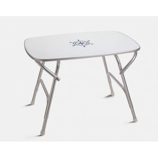 "Trem Oval Folding Table 24"" x 34"" 24"" H"