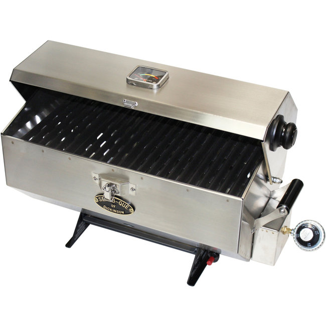 "Dickinson BBQ SBQ Large 11.000 Btu 227 SQ"" Cooking Space"