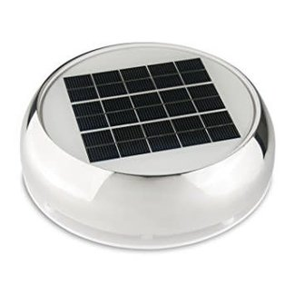"Nicro Solar Vent 3"" w/LED Light"