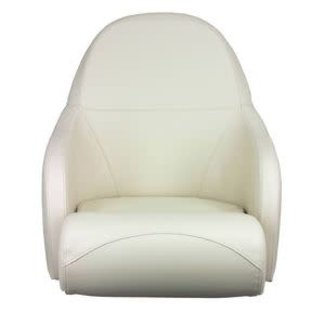 Springfield White Bolster Chair