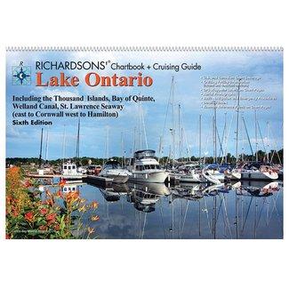 Richardson Marine Lake Ontario Chartbook Seventh Edition (2018)