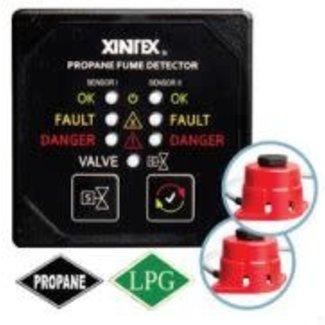 Fireboy Propane Detector w/2 Sensors