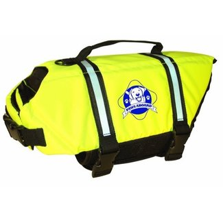 Paws Dog Vest Yellow Medium